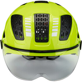 ABUS Hyban 2.0 Ace Helmet signal yellow